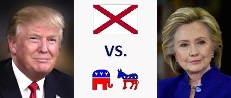 Alabama Presidential Election 2016