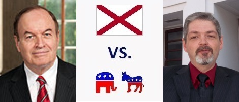 Alabama Senate Election 2016 - Richard Shelby vs. Ronald Crumpton