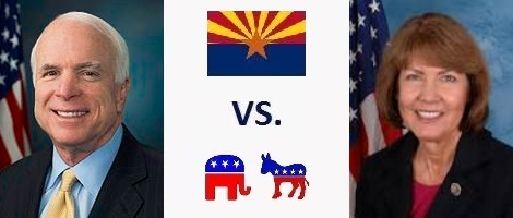 Arizona Senate Election 2016- John McCain vs. Ann Kirkpatrick
