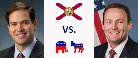 Florida Senate Election 2016 - Marco Rubio vs. Patrick Murphy