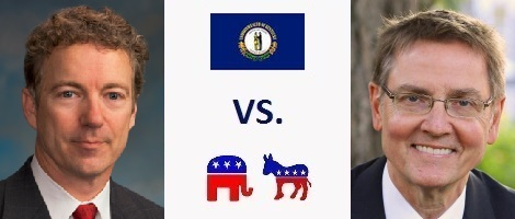 Kentucky Senate Election 2016 - Rand Paul vs. Jim Gray