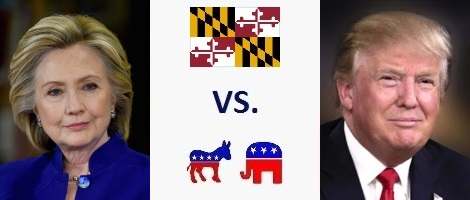 Maryland Presidential Election 2016