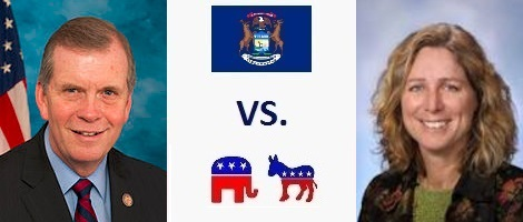 Michigan 7th District Election 2016 - Tim Walberg vs. Gretchen Driskell