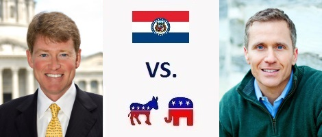 Missouri Governor Election 2016 - Chris Koster vs. Eric Greitens