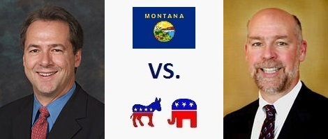 Montana Governor Election 2016 - Steve Bullock vs. Greg Gianforte