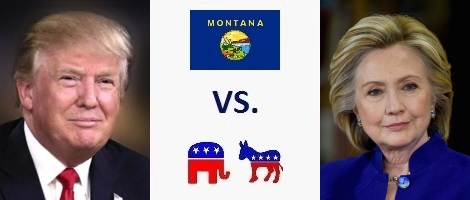 Montana Presidential Election 2016
