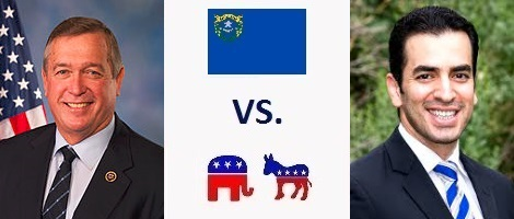 Nevada 4th District Election 2016 - Cresent Hardy vs. Ruben Kihuen