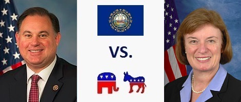 New Hampshire 1st District Election 2016 - Frank Guinta vs. Carol Shea-Porter