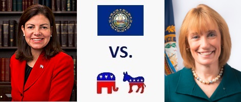 New Hampshire Senate Election 2016 - Kelly Ayotte vs. Maggie Hassan