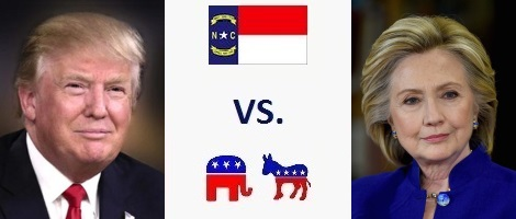 North Carolina Presidential Election 2016