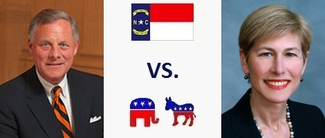 North Carolina Senate Election 2016 - Richard Burr vs. Deborah Ross