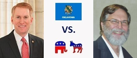 Oklahoma Senate Election 2016 - James Lankford vs. Mike Workman