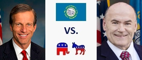 South Dakota Senate Election 2016 - John Thune vs. Jay Williams