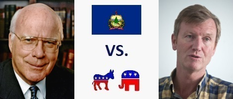 Vermont Senate Election 2016 - Pat Leahy vs. Scott Milne