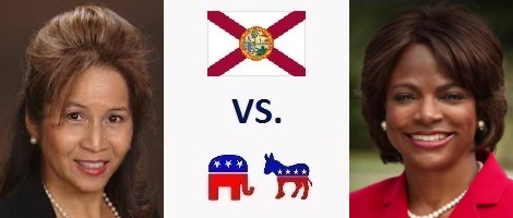 Florida 10th District Election 2016 - Thuy Lowe vs. Val Demings