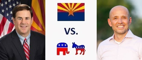 Arizona Governor Election 2018 - Doug Ducey vs. David Garcia