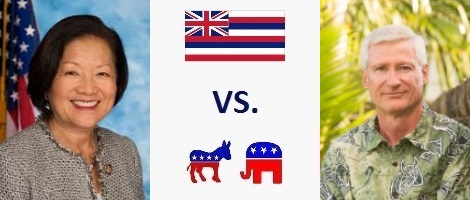 Hawaii Senate Election 2018 - Mazie Hirono vs. Ron Curtis