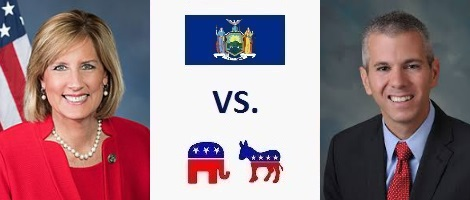 New York 22nd District Election 2018 - Claudia Tenney vs. Anthony Brindisi
