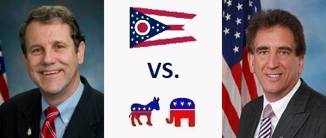 Ohio Senate Election 2018 - Sherrod Brown vs. Jim Renacci