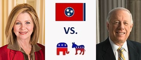 Tennessee Senate Election 2018 - Marsha Blackburn vs. Phil Bredesen